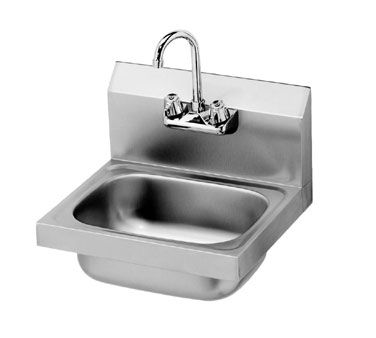 Krowne HS-2L Wall Mount Hand Sink, Low Lead Compliant