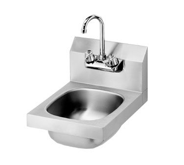 Krowne Space Saver Hand Sink, Low Lead Compliant