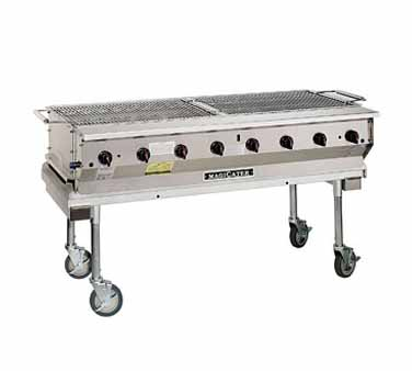 "Magikitch'n Magicater trans. Gas Grill 60"" - NPG-60-SS"