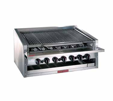 "Magikitch'n Radiant Charbroiler counter 48""  - APM-RMB-648"