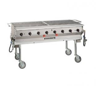 "Magikitch'n Magicater trans. Gas Grill 60"" - LPG-60-SS"