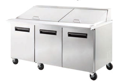 Check out the Maxxcold Megatop Sandwich Prep Table Cu  Product Photo