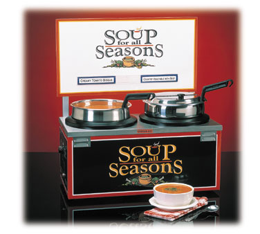 Soup Warmer Double Qt Well Header picture