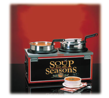 Nemco Soup Warmer double 7 qt. well w/o header  - #6510-D7P