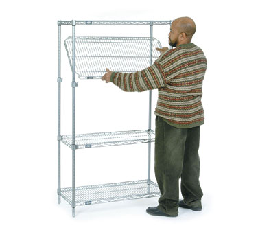 Nexel E-Z Adjuster Shelving Units