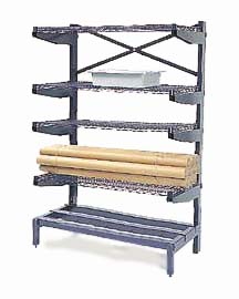 Precious Shelving Shelving System Cantilevered Product Photo
