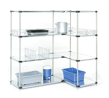 Nexel Shelving Add-On Shelving Unit solid - A18488SZ