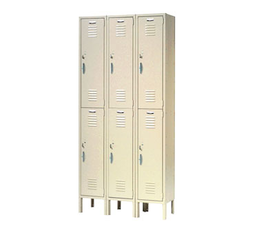 Nexel Shelving Capital Locker double tier - CS186AS