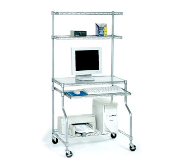 Nexel Shelving Complete Computer Workcenter wire - CWC3124