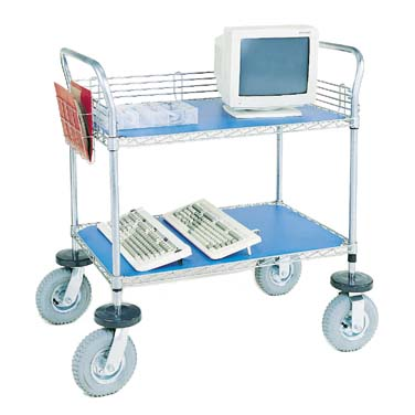 Nexel Shelving Computer/Instrument Cart wire - IC24362C