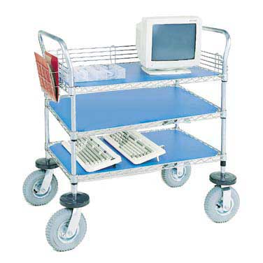 Nexel Shelving Computer/Instrument Cart wire - IC24363C