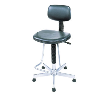 Nexel Shelving Pneumatic Production Stool without arms - PS17BK