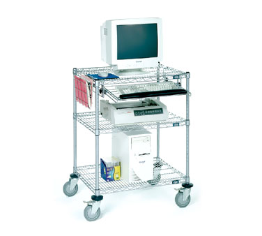 Nexel Shelving Printer Stand/Computer Workstation wire -