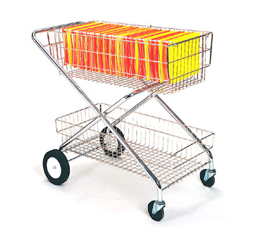 "Nexel Shelving Mail/Service Cart 16"" - SC16362"
