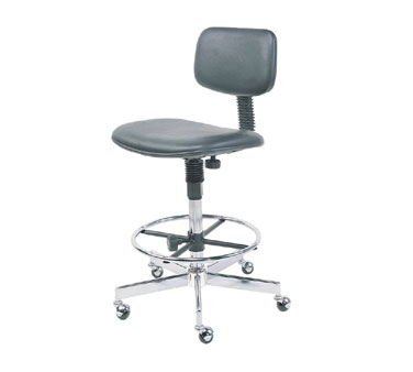 Nexel Shelving Swivel Chair vinyl - SC27BK