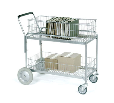"Nexel Shelving Mail/Service Cart 43"" - SC43243"
