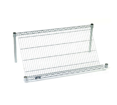 Nexel Shelving Slant Shelf Merchandiser/Display wire - 24485SSC