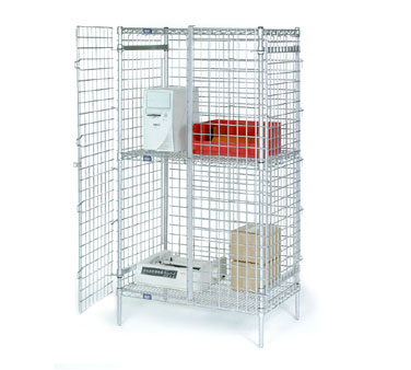 Nexel Wire Shelving Security Units