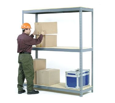 Nexel Shelving Wide Span Storage Rack 3 shelf unit - WDL6488