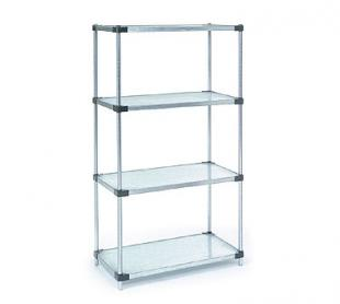 Nexel Shelving Add-On Shelving Unit solid - A24368SS