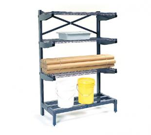 Nexel Shelving Shelving System cantilevered - 2472CS4