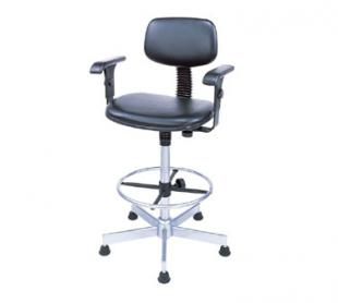 Nexel Shelving Swivel Chair vinyl - SCA17BK
