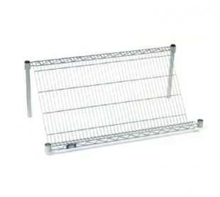 Nexel Shelving Slant Shelf Merchandiser/Display wire - 24486SSC