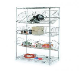 Nexel Shelving Bin Pick Rack wire - WBR2448C
