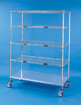 Nexel Shelving Exchange & Linen Transport Truck standard duty - XS412460