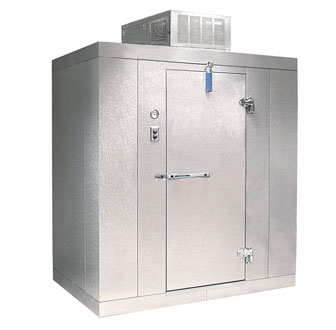 "Nor-Lake Kold Locker 6'x 6'x 6'-7""H w/floor - KLB66-C"