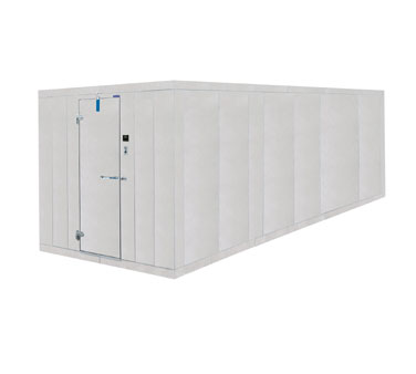 Nor-Lake Fast-Trak Two Cmpt. OD Walk-In 12' - 12X38X7-7ODCOMBO