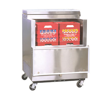 Nor-Lake Open Front Milk Cooler - AR082WVS/0-A