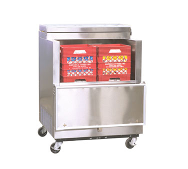 Nor-Lake Open Front Milk Cooler - AR082SSS/0