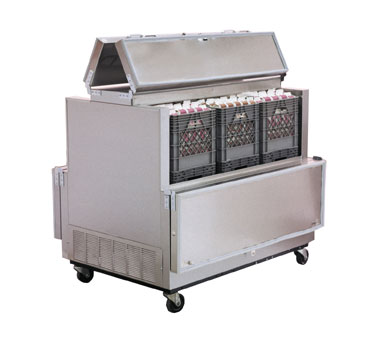 Nor-Lake Dual Access Milk Cooler - AR124SSS/0