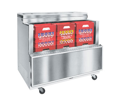 Nor-Lake Open Front Milk Cooler - AR122SSS/0