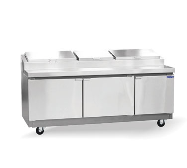 Nor-Lake Refrigerated Preparation Table - RR283SMS/0
