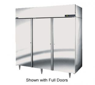 Nor-Lake Nova Reach-In Freezer Three-Section hinged half doors - NF806SSS/0