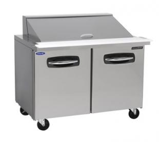 "Nor-Lake AdvantEDGE Mega Top Refrigerated Sandwich Unit 27-1/2"" (2) drawers - NLSMP27-12-001"