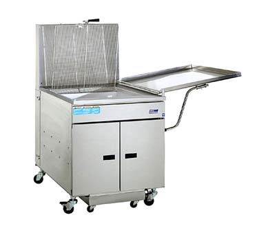 Pitco Gas Donut Fryer With Buit-In Filter - 24RUFM