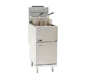 Pitco Gas Fryer,  Full Pot With 42-50 Lbs. Capacity - 45C+S