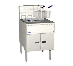 Pitco High Efficiency Fryer, Solid State, 140-150 Lbs. Capacity - SGM24