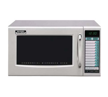 Sharp Microwave Oven, Medium Duty, 1000 Watts, 10 Touch Memories - R-21LVF