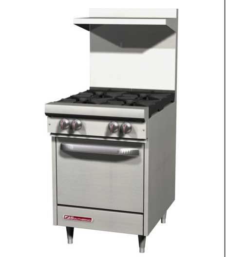 "S-Series Range 24"", 4 Burners - S24C"