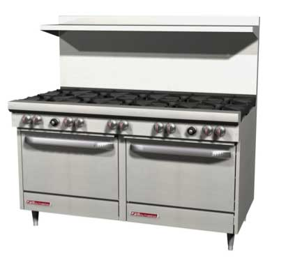 "S-Series Range 60"" W (6) Burners - #S60AD-2T"