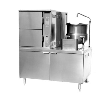 Convection Steamer Kettle Gas