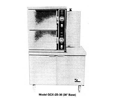 Southbend Convection Steamer Gas - GCX-2S