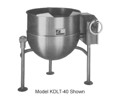 Southbend Tilting Kettle Direct 40-Ga. Cap. - KDLT-40