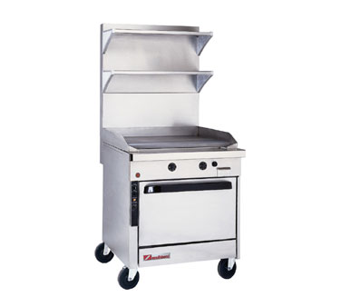 Southbend Platinum Heavy Duty Ranges with Griddle Tops
