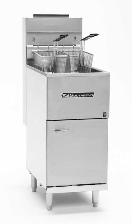 Southbend Medium Duty Gas Floor Fryer SB45S, 42-50 Lbs. Capacity