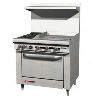 "S-Series Range 36"" W (2) Burners - #S36A-2G"